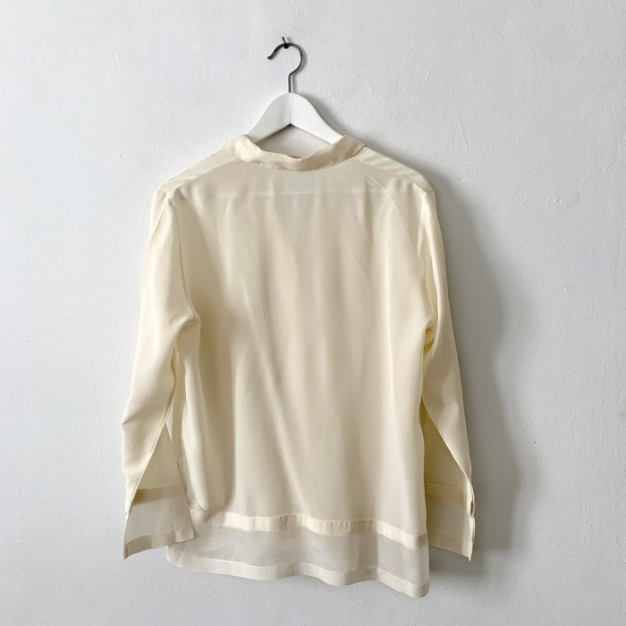 Camisa blanca fluida
