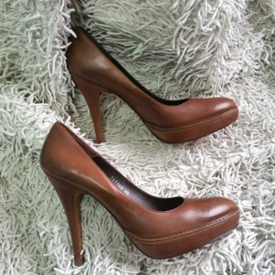 Zapato piel plataforma