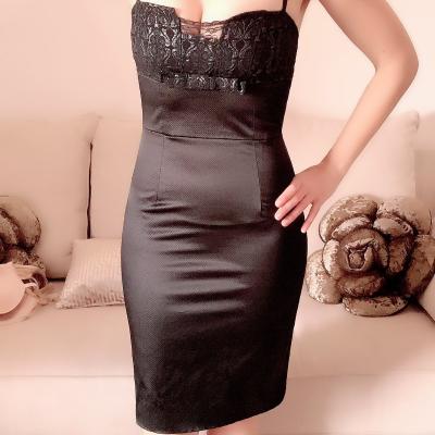 Vestido negro de fiesta Best for less