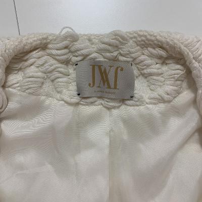 Abrigo blanco punto