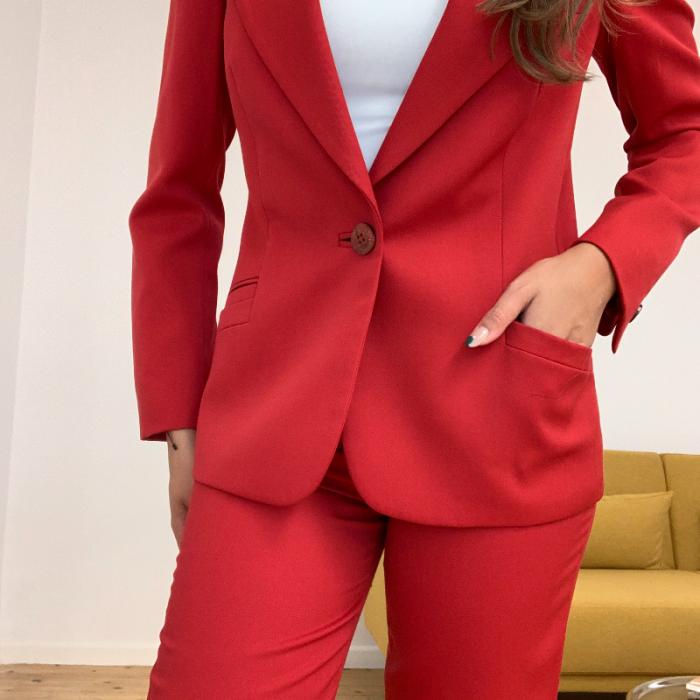 Total Look rojo