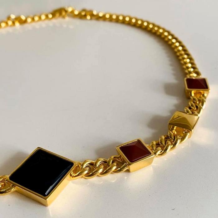 ARISTOCRAZY Collar plata