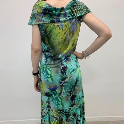 Vestido multicolor