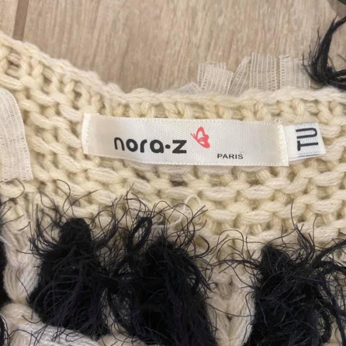 Nora-z Paris Chaleco fleco