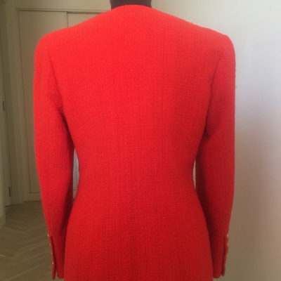 Chaqueta Roja Chanel Best for less