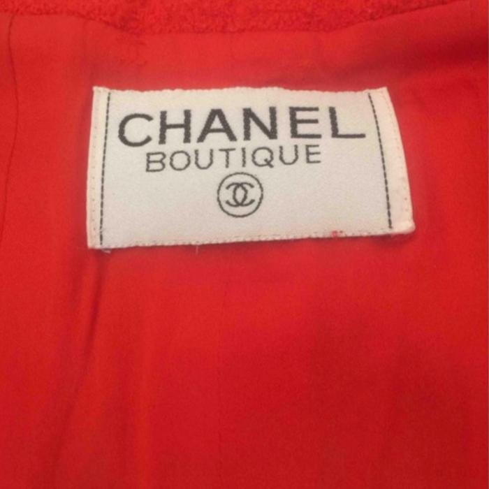 Chaqueta Roja Chanel