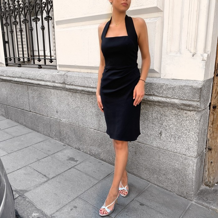 Vestido Azul Armani