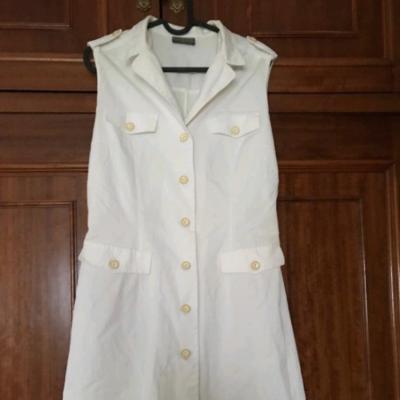 Vestido blanco Best for less