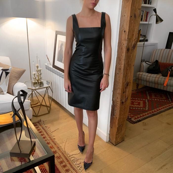 Vestido de Piel Loewe