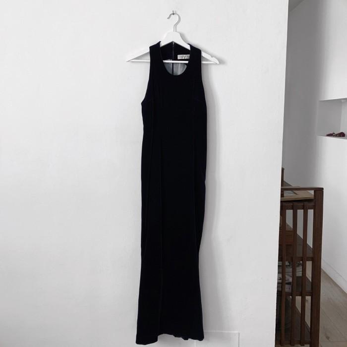 Vestido Terciopelo Largo
