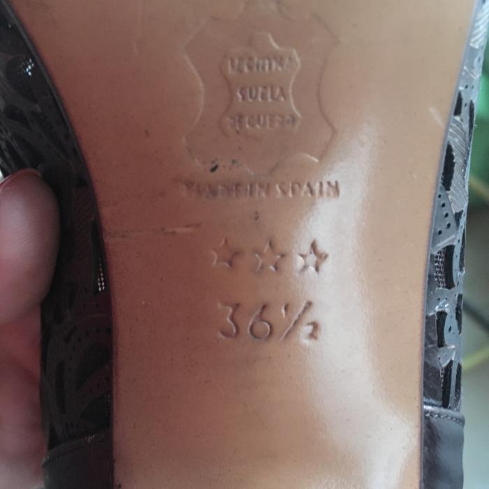 Zapato vintage marrón