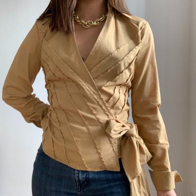 Blusa beige Zara Best for less