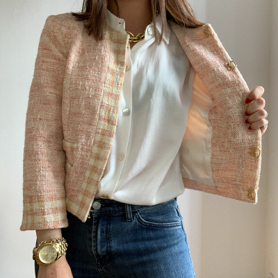 Chaqueta tweed Best for less