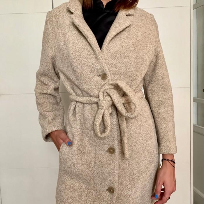 Abrigo largo cashmere