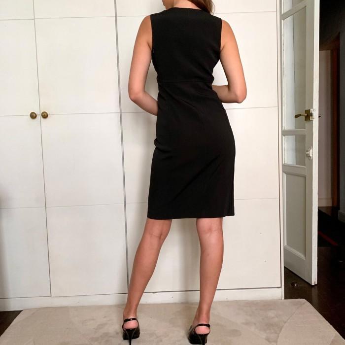 Vestido tejido tecno