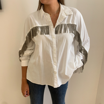 Camisa abalorios Best for less