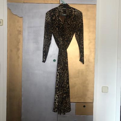 Vestido largo leopardo Best for less