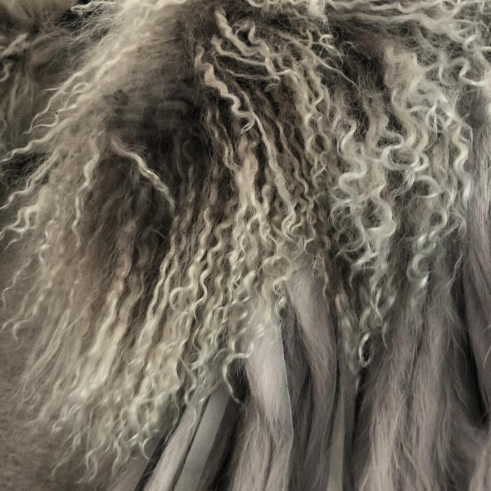 abrigo de pelo de Furia Ma