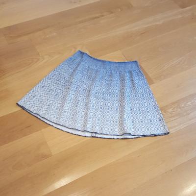 Falda tejido azul Marola