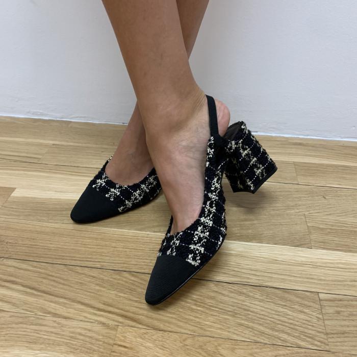 Zapatos tweed
