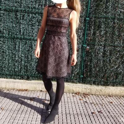 Vestido fiesta encaje