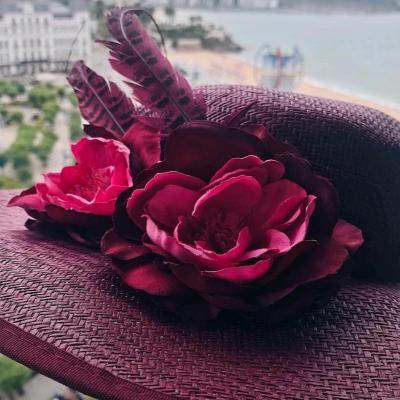 Maxi canotier de flores Best for less