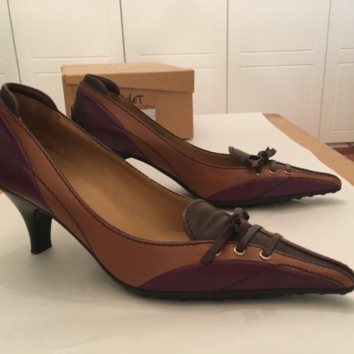 Zapatos piel tacón