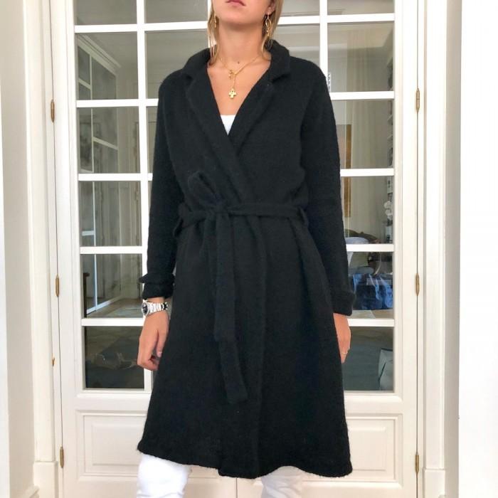 Abrigo largo lana