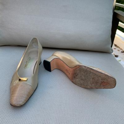 Zapato Punta Cocodrilo