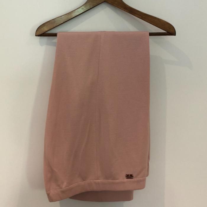 Pantalón punto rosa
