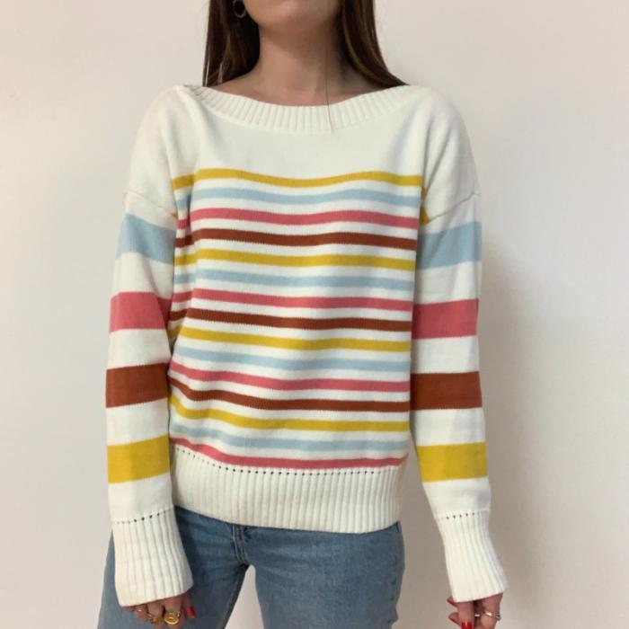 Jersey rayas de colores