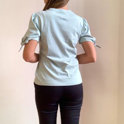 Camiseta lazos en mangas Best for less