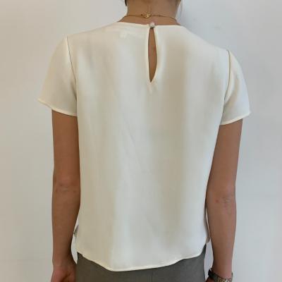 Blusa de seda con bordado Best for less