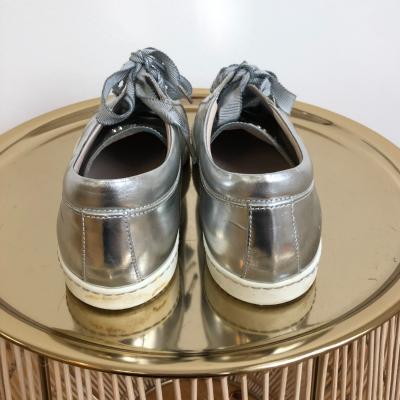 Zapatillas plateadas Best for less