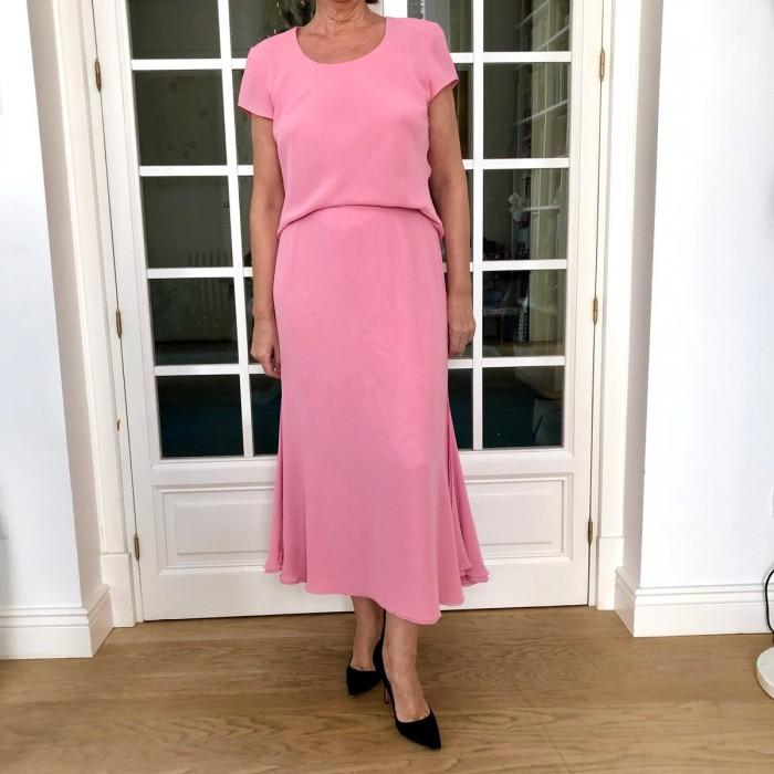 Total look falda y blusa