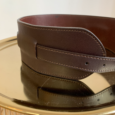 Cinturón piel marrón Best for less