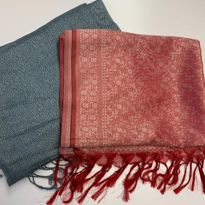 Pañuelos gris y rojo Best for less