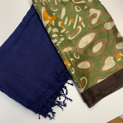 Pañuelos verdes y azul Best for less