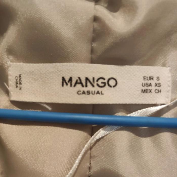 Abrigo  pelo Mango