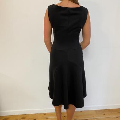 Vestido negro neopreno Best for less