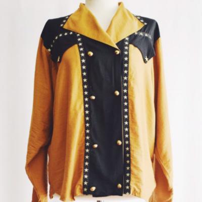 Blusa Vintage Cowboy