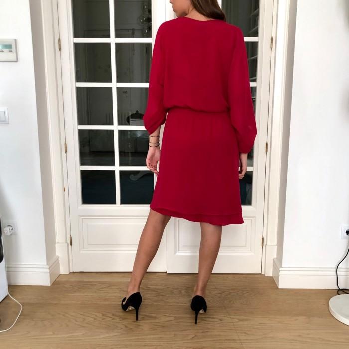 Vestido fiesta rojo