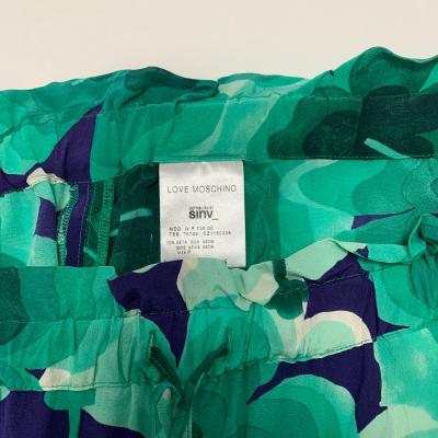 Pantalón de seda verde Best for less