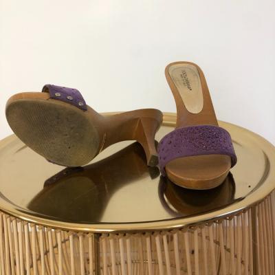 Sandalia en madera Best for less