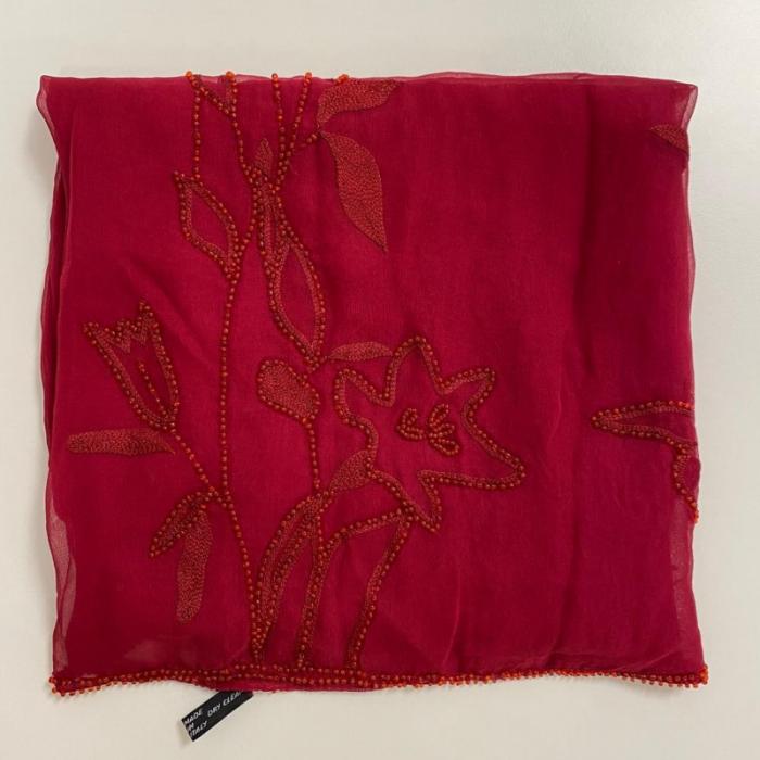 Foulard Rojo Pedrería