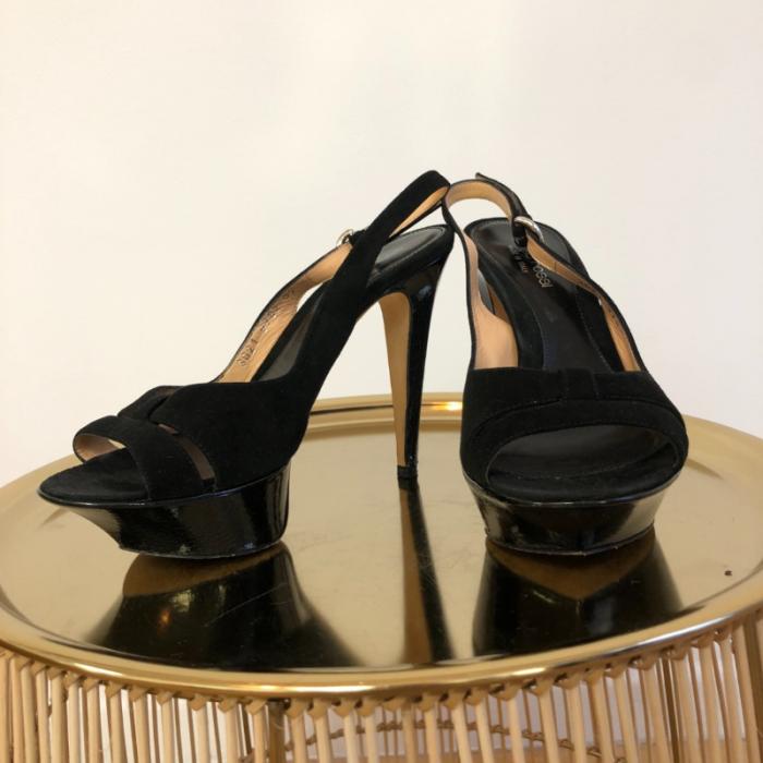 Sandalias de ante y cuero