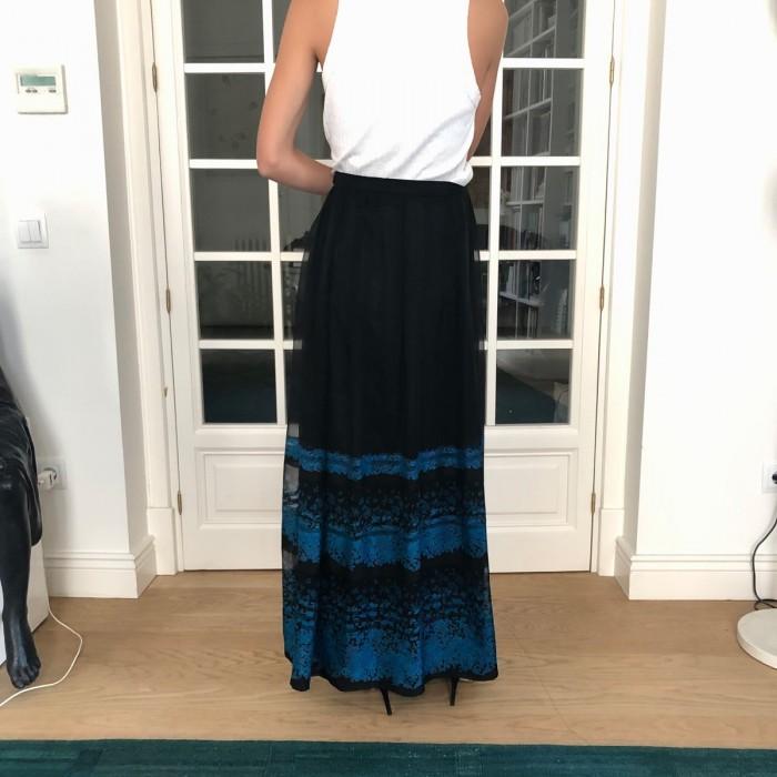 Falda fiesta negra