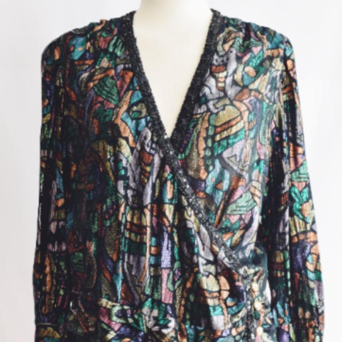 Blusa Brillante Vintage