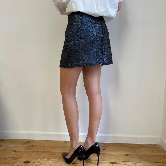 Minifalda lentejuelas