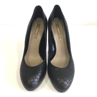 Zapato negro de tacon Best for less